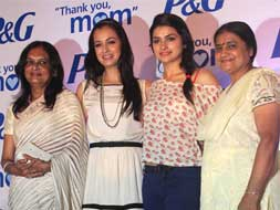 Photo : Prachi Desai and Dia Mirza celebrate Mother's Day