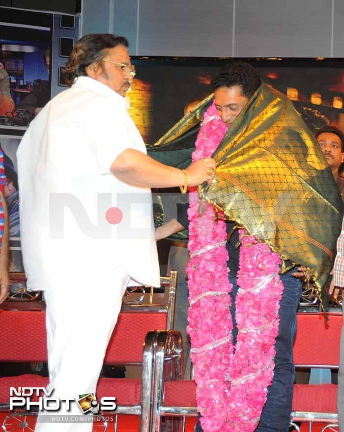 Prakash Raj, Siddharth's evening out