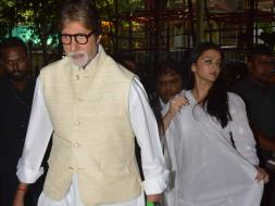 Photo : Big B, Rishi Kapoor, Aishwarya at Prayer Meet for Aadesh Shrivastava