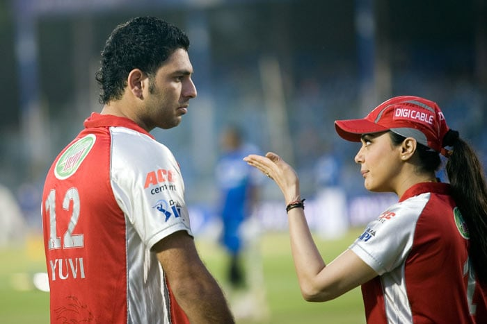 Not so 'pretty' for Preity, Yuvi