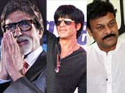 Photo : Chiranjeevi, Big B and more stars around town