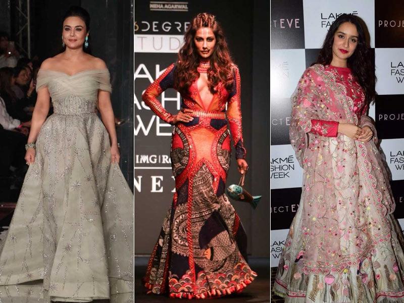 Lakme Fashion Week Day 3: Preity, Chitrangada, Shraddha Are The Showstoppers