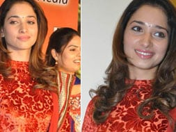Photo : Tamanna at music launch of Premalo Padithe