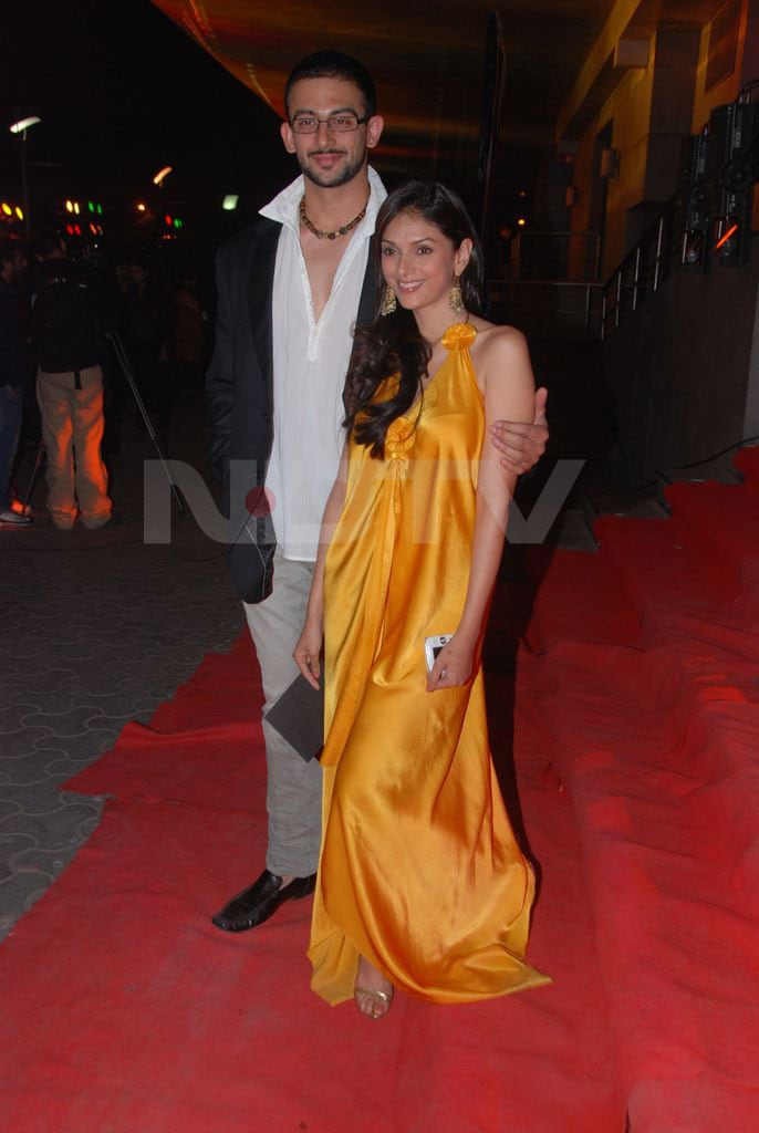 Aditi, Arunoday at Premiere of Yeh Saali Zindagi