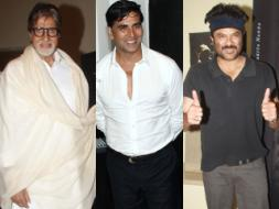 Photo : Stars share some Prem: Big B, Akshay Kumar, Anil Kapoor
