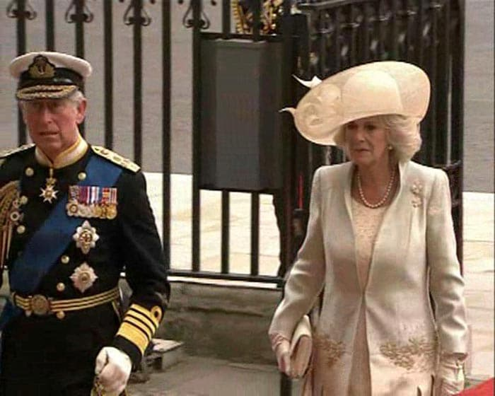 Prince Charles, Camilla arrive