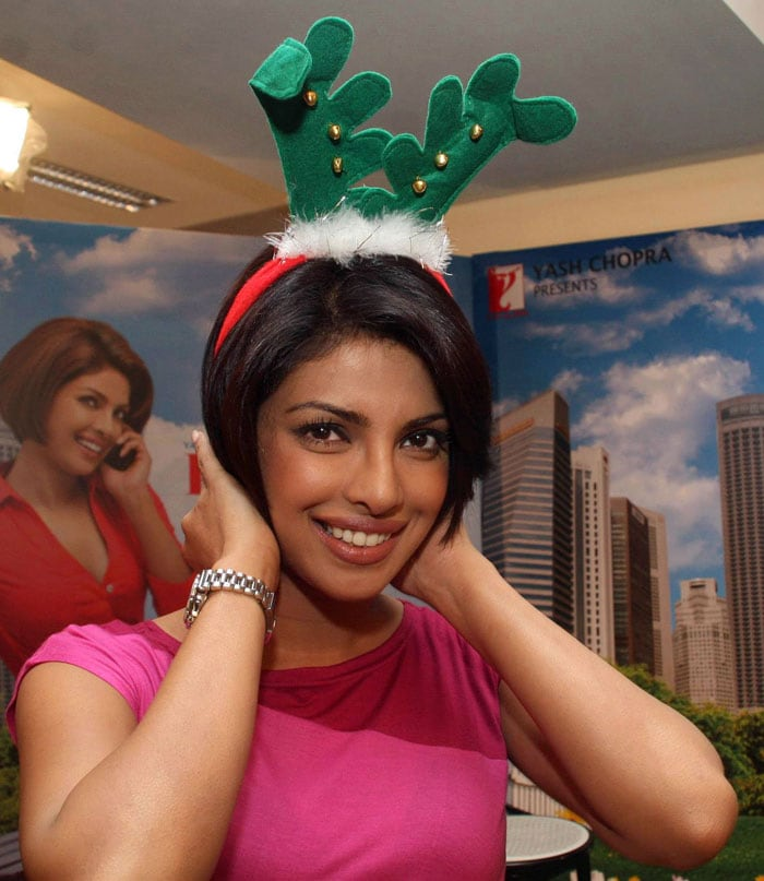 Priyanka's Christmas celebrations