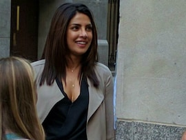 Priyanka Chopra At Work: On The Sets Of <I>Quantico</i> In New York