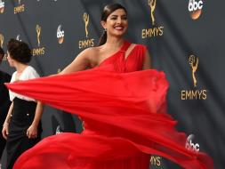 Photo : Emmy Fashion: Meet Priyanka Chopra, The Scarlet Queen
