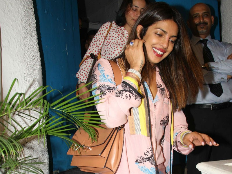 Tracking Priyanka Chopra's Whereabouts In Mumbai