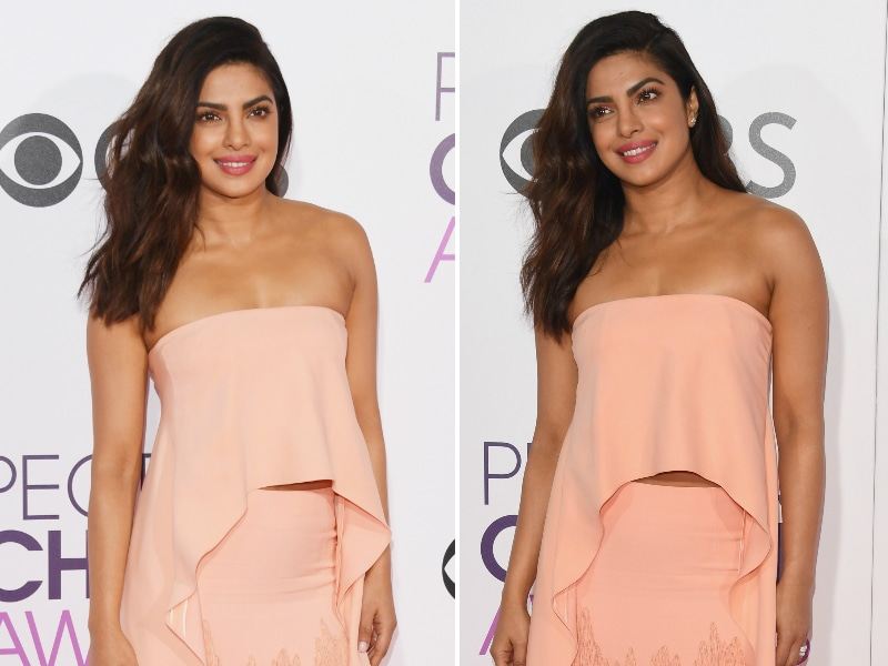 Priyanka Chopra's Fashion Splash On People's Choice Red Carpet