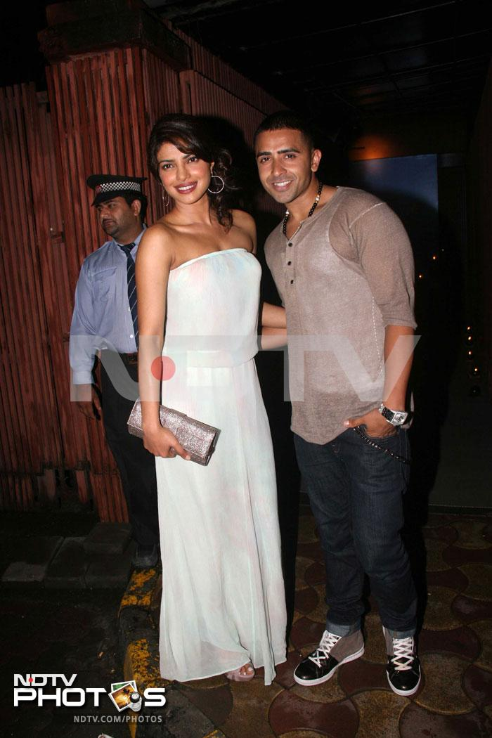 Priyanka's night out with Jay Sean