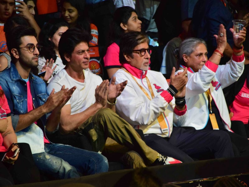 Big B, Shah Rukh, Ranbir  Le Panga at Pro Kabaddi League 2016