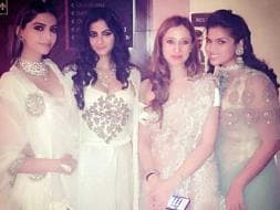 Photo : At Masaba's Wedding Reception: A Queen, a Dulhania and Other A-List Stars