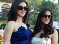 Photo : Raima, Urvashi at a fashion do