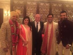 Photo : Inside Suresh Raina's Wedding: Dhoni & Sakshi on VIP Guest List