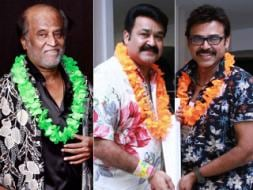 Photo : Life's a beach for Rajini Sir, Mohanlal, Chiranjeevi & gang