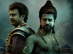 Photo : Double delight: Rajinikanth in Kochadaiyaan