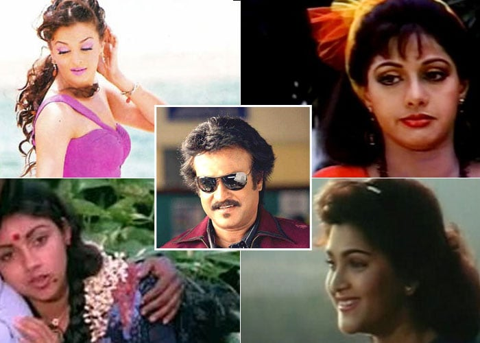 Rajinikanth And His Women