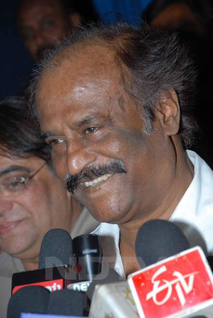 Rajinikanth Spotted In Bangalore!