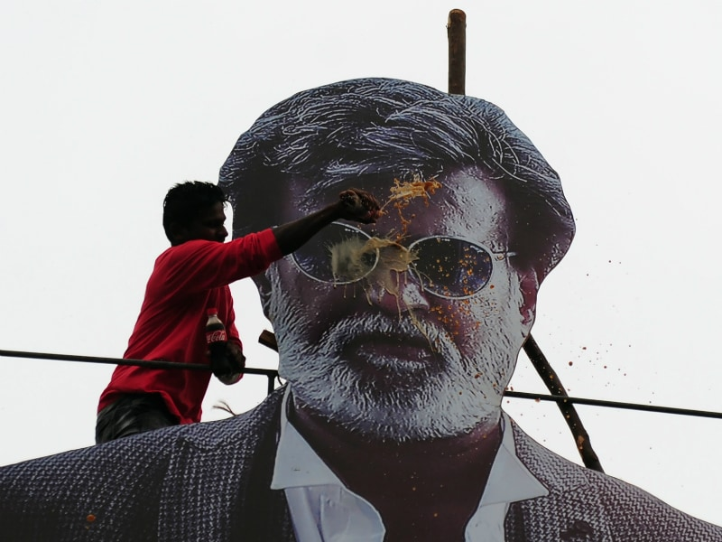 How Chennai Celebrated Rajinikanth's Kabali at 5 AM