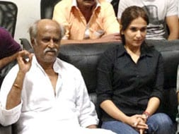Photo : Rajinikanth at Kochadaiyaan preview