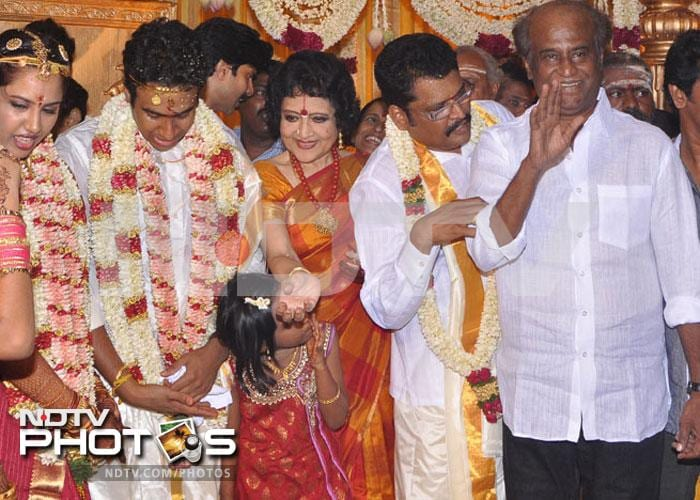 Rajinikanth, VIP wedding guest