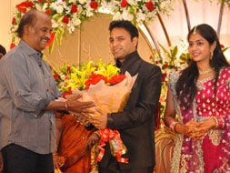 Photo : Rajinikanth goes to a wedding