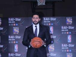 Photo : Abhishek to Represent India at NBA All-Star Celebrity Game