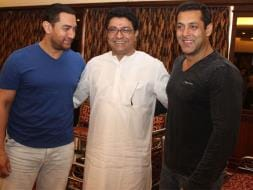 Photo : Salman, Aamir Meet Raj Thackeray to Discuss Mumbai Development Plan