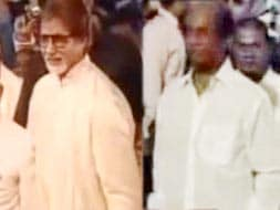 Photo : Big B, Rajini attend Ram Charan Teja's wedding