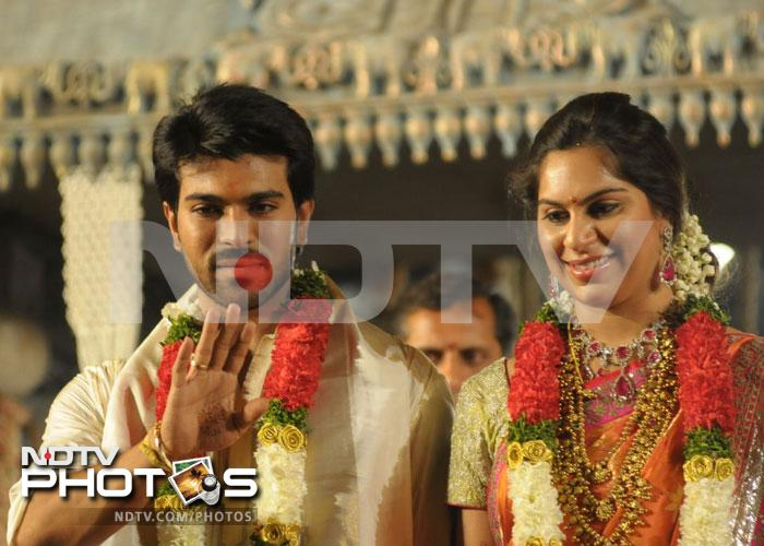 Ram Charan Teja, Upasana wedding reception for fans