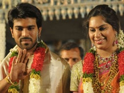 Photo : Ram Charan Teja, Upasana wedding reception for fans