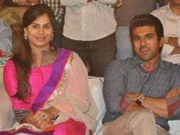 Photo : An evening with Ram Charan Teja and family