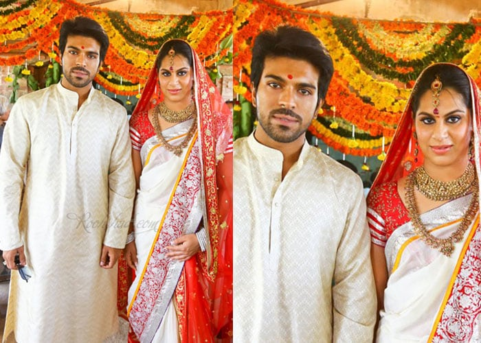 Ram Charan Teja and Upasana perform special pooja ahead of wedding