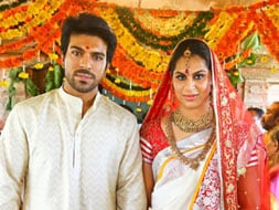 Photo : Ram Charan Teja and Upasana perform special pooja ahead of wedding