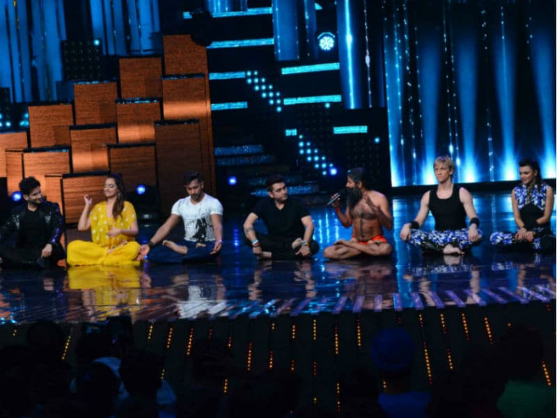 Nach Baliye 8: Baba Ramdev Gives Contestants And Judges Yoga Lessons