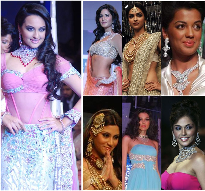 Bollywood beauties dazzle on the ramp