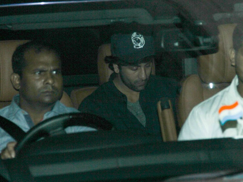 Ranbir's Busy Day Out With His Producer