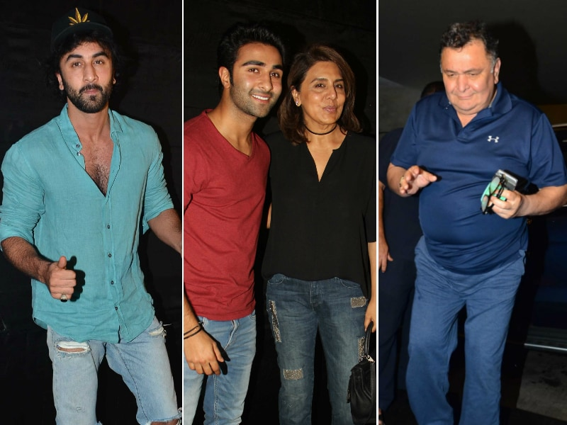 The Kapoors Watched Jagga Jasoos Together