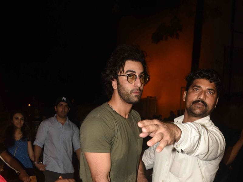 Ranbir Kapoor, Varun Dhawan, Arjun Kapoor Put Their Party Shoes On