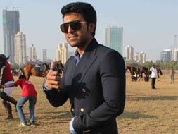 Photo : Ram Charan Teja, 28, the new Angry Young Man