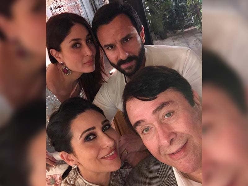 We Are Family: Kareena, Karisma Celebrate Randhir Kapoor's Birthday