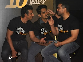 Aamir, Sharman, Siddharth at <I>Masti Ki Paathshala</i> Reunion