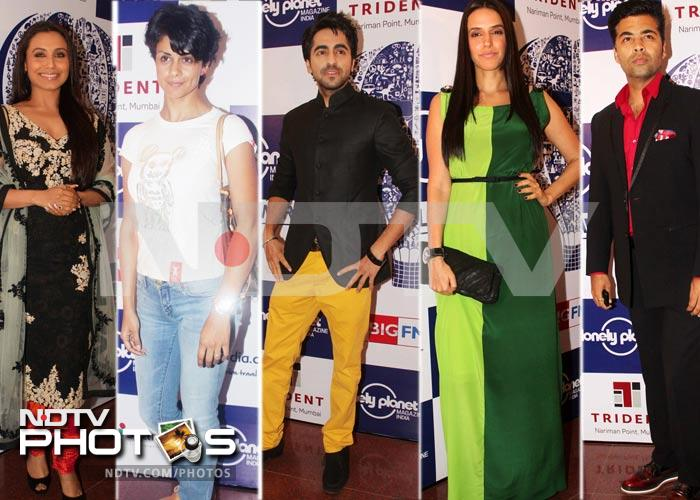 Rani, Gul, Neha, Sonali at travel awards
