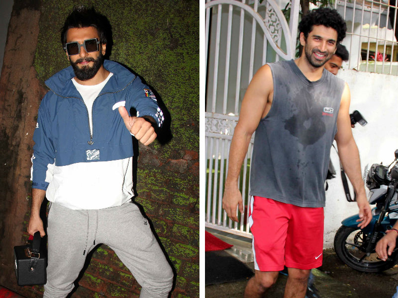 Sweat It Out Like Ranveer, Aditya