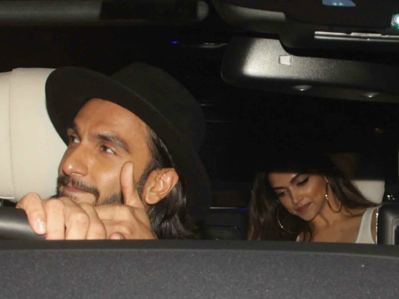 When Ranveer And Deepika Put On Their Party Shoes