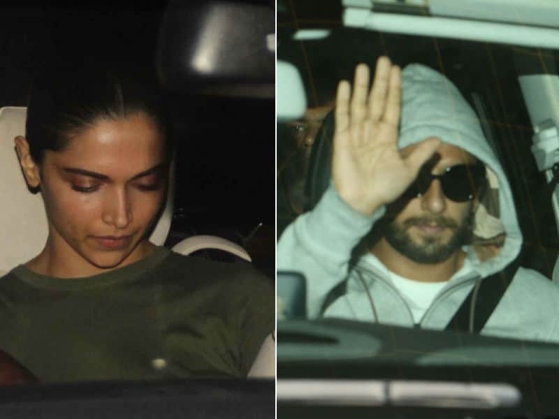 Deepika And Ranveer Caught Up At Work