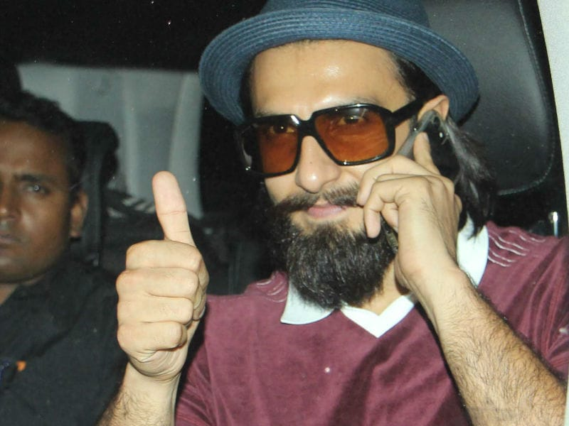 Tracking Ranveer Singh's Whereabouts