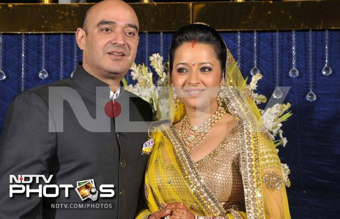 Reema Sen's wedding reception